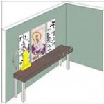 Những vị trí kiêng kỵ đặt bàn thờ